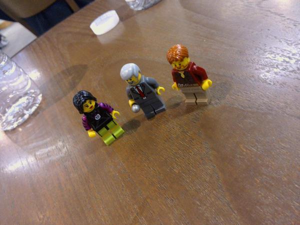 Lego Rehearsal